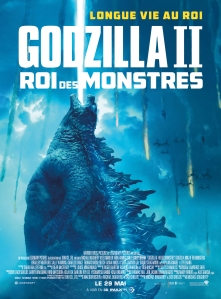 Affiche du film Godzilla roi des monstres