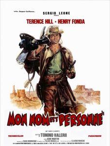 Affiche du film Mon nom est personne avec Terrence Hill