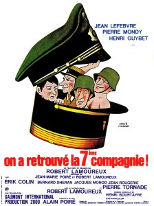 Affiche du film On a retrouvé la septième compagnie