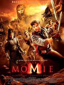 Affiche du film La momie La tombe de l'empereur dragon