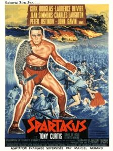 Affiche du film Spartacus