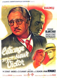 Affiche du film L'étrange monsieur Victor
