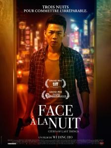 Affiche du film Face à la nuit