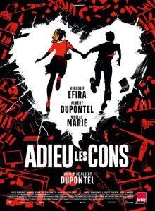 Affiche du film Adieu les cons