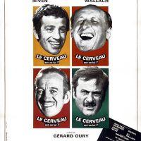 LE CERVEAU de Gérard Oury (1969)