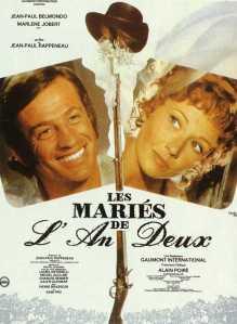 Affiche du film Les mariés de l'an deux