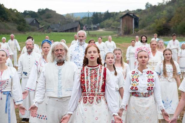 Photo des villageois de Midsommar