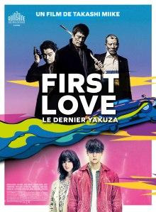 Affiche du film First Love le dernier yakuza