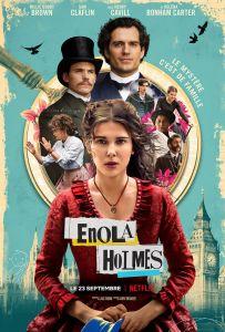 Affiche du film Enola Holmes