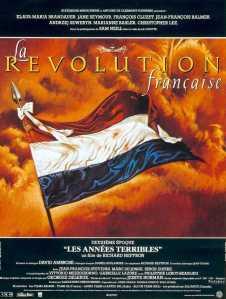 Affiche du film La révolution française les années terribles