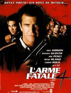 Affiche du film L'arme fatale 4